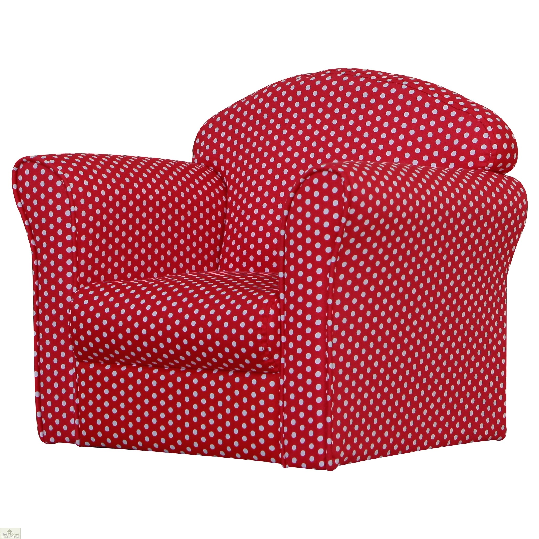 Childrens Mini Armchair Red