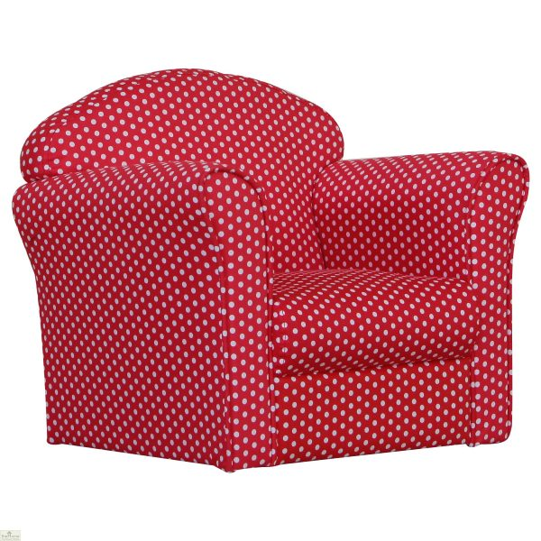 Childrens Mini Armchair Red_1