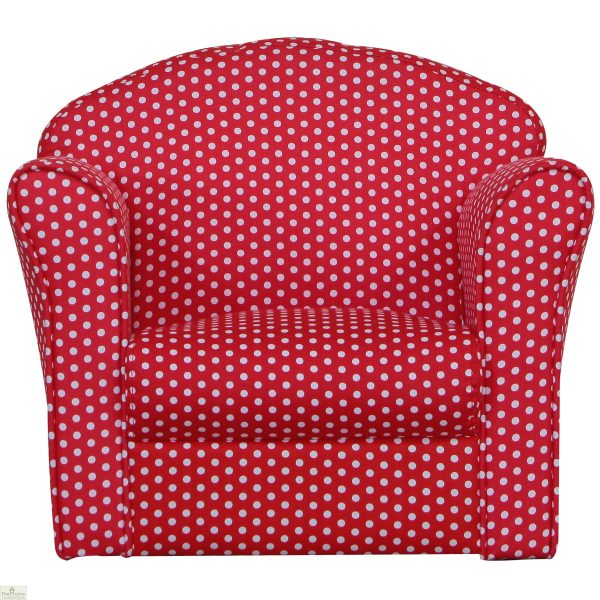 Childrens Mini Armchair Red_2
