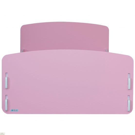 Junior Bed Frame Pink White_1