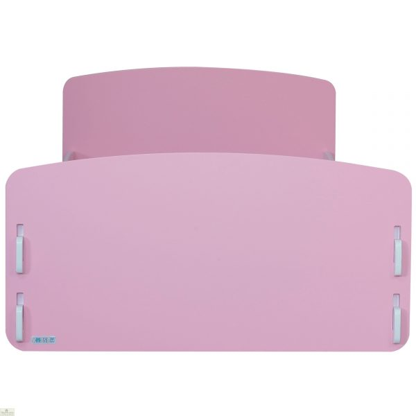 Junior Bed Frame Pink White_1