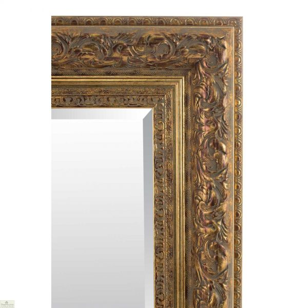 Antique Style Carved Mirror_5