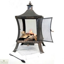 Hestia Large Square Fire Pit