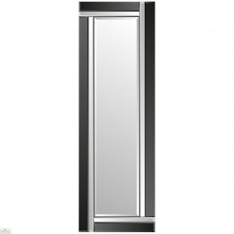 Venetian Black Colour Block Mirror_1
