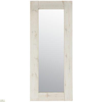 Traditional Farmhouse Mirror - White