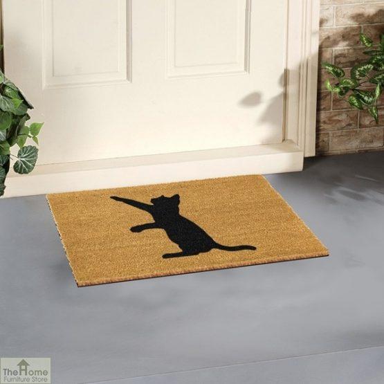 Cat Silhouette Doormat_3