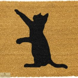 Cat Silhouette Doormat_1