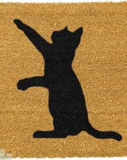 Cat Silhouette Doormat_1