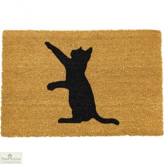 Cat Silhouette Doormat