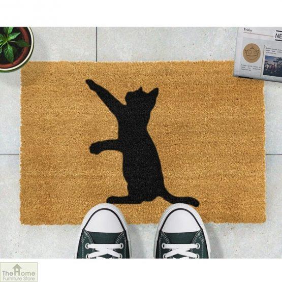 Cat Silhouette Doormat_2