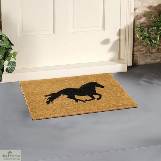 Horse Silhouette Doormat_3