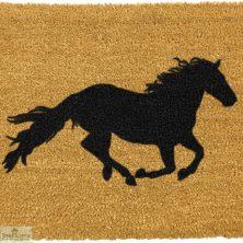 Horse Silhouette Doormat