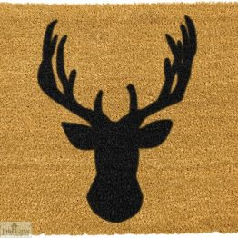 Stags Head Silhouette Doormat_1