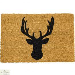 Stags Head Silhouette Doormat