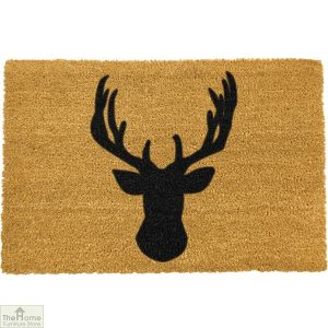 Stags Head Silhouette Doormat