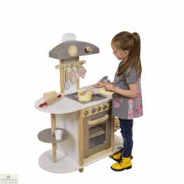 Breakfast Bar Wooden Toy Kitchen