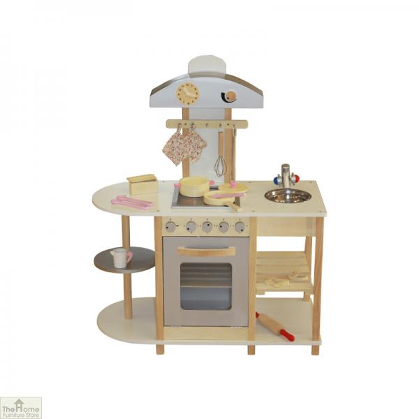 Breakfast Bar Wooden Toy Kitchen