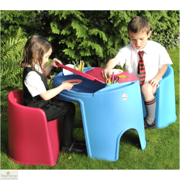 Childrens Tub Table And Chair Set_1