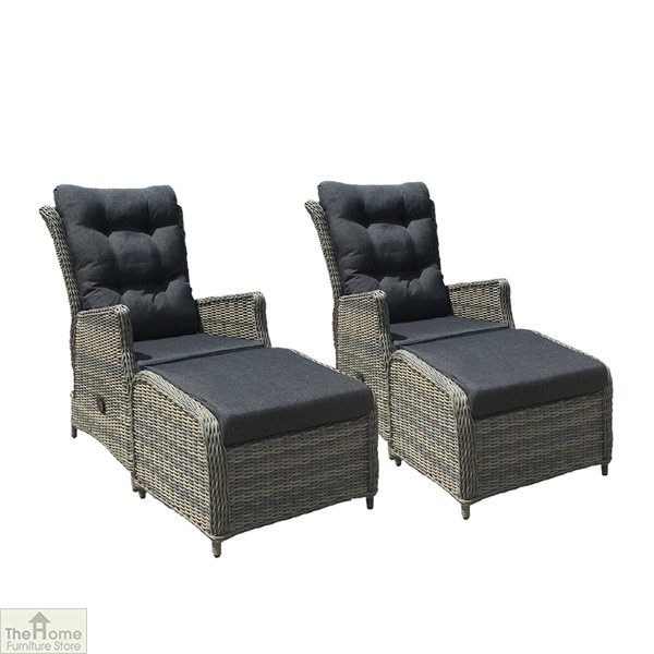 Casamoré Milan Reclining Armchair Set in Flint Grey_11