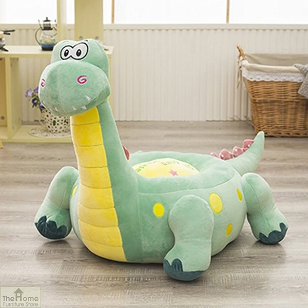 Plush Dinosaur Riding Chair