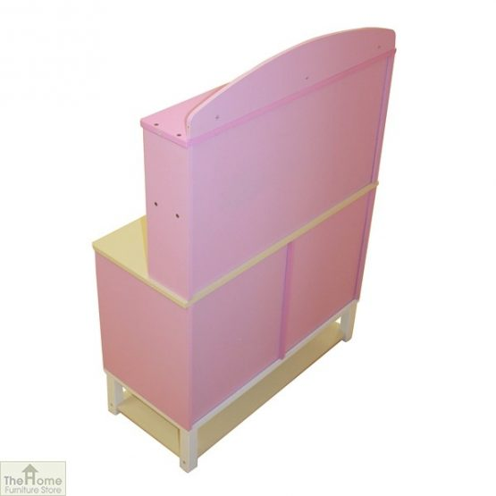 Pink Wooden Toy Kitchen_4