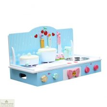 Country Wooden Table Top Toy Kitchen