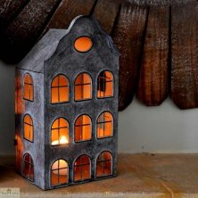 Small Dutch House Lantern