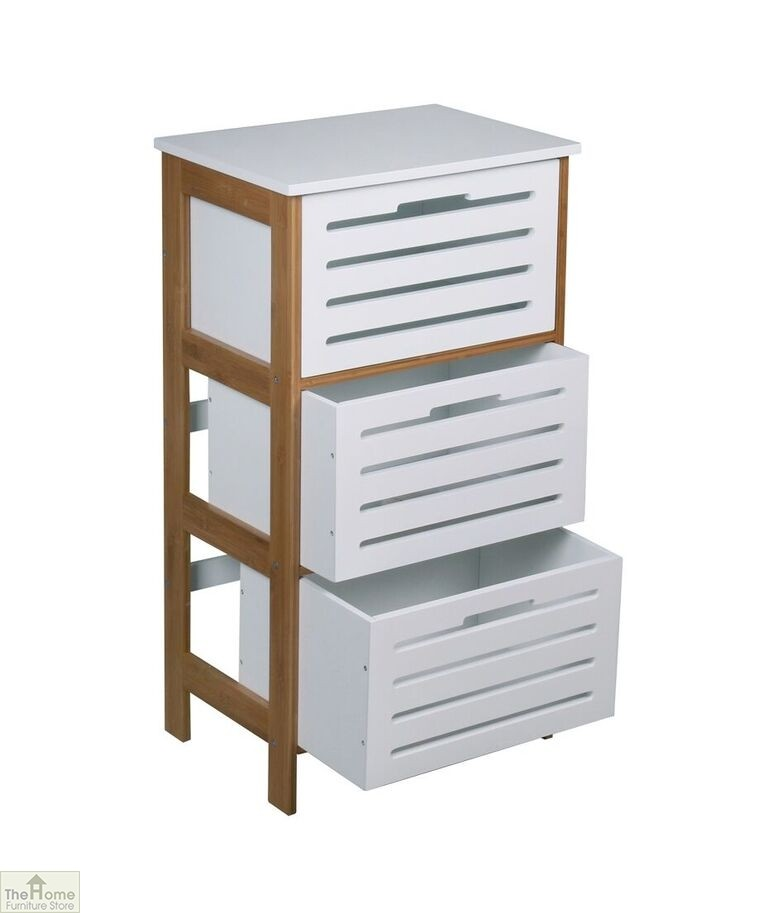 Bamboo 3 Drawer Cabinet The Home Furniture Store