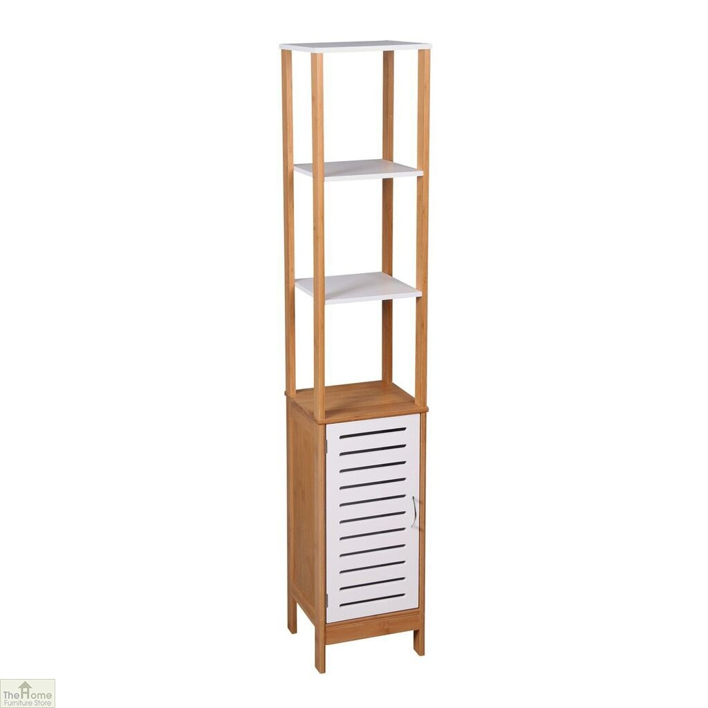 Bamboo Tall Bathroom Unit The Home Furniture Store