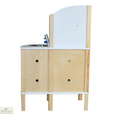 Grey Contemporary Wooden Toy Kitchen_2