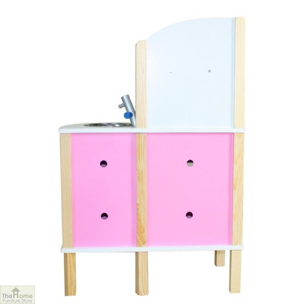Pink Contemporary Wooden Toy Kitchen_3