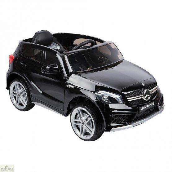 Mercedes Black Ride on Car_3