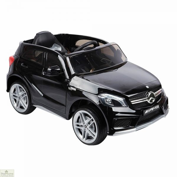 Mercedes Black Ride on Car_3