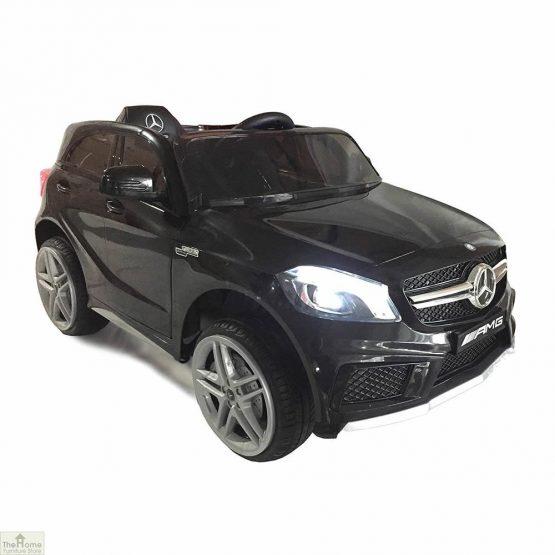Mercedes Black Ride on Car_1