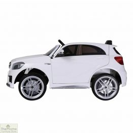 Mercedes White Ride on Car_1