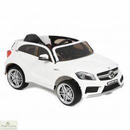 Mercedes White Ride on Car