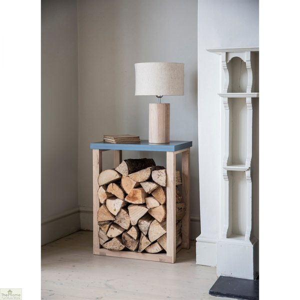 Log Storage Table - Charcoal