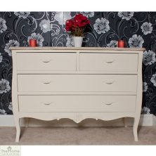 Devon Shabby Chic Chest of Drawers 2 Over 2
