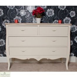 Devon Shabby Chic Chest of Drawers 2 Over 2 _1