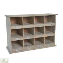 Chedworth 12 Shoe Locker Storage Unit
