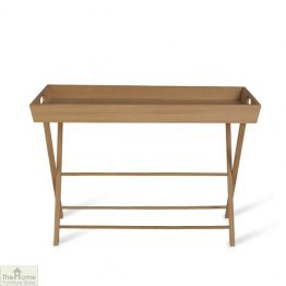Large Raw Oak Butlers Table
