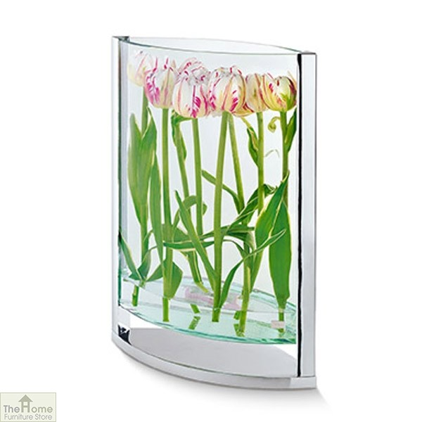 Ellipse Glass Vase