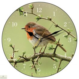 Robin Redbreast Wall Clock