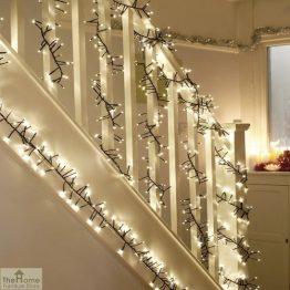 2000 Warm White LED Christmas Lights