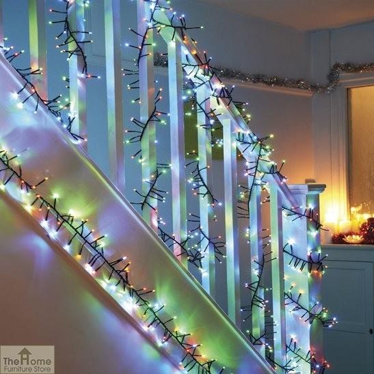 2000 Multi Coloured LED Lights