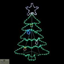 Twinkling LED Christmas Tree