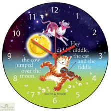 Cow Jumped Over The Moon Clock