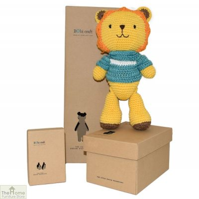 Lion Knitted Toy_1