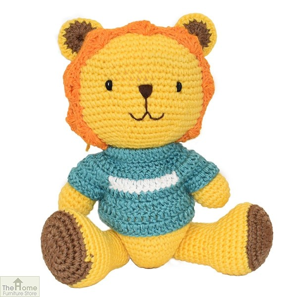 Lion Knitted Toy | The Home Furniture Store HFS Toys