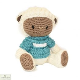 Sheep Knitted ToyBlue